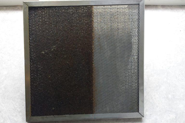 dégraissage filtres à hotte